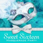 Masquerade Invitation Template for Sweet 16 150x150