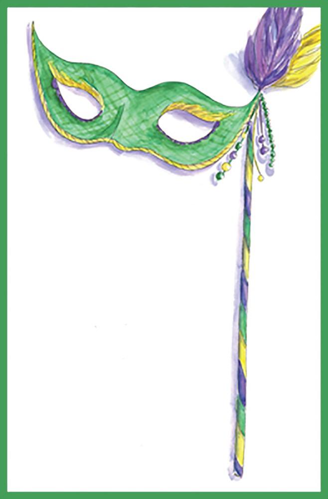 Printable Masquerade Birthday Invitation