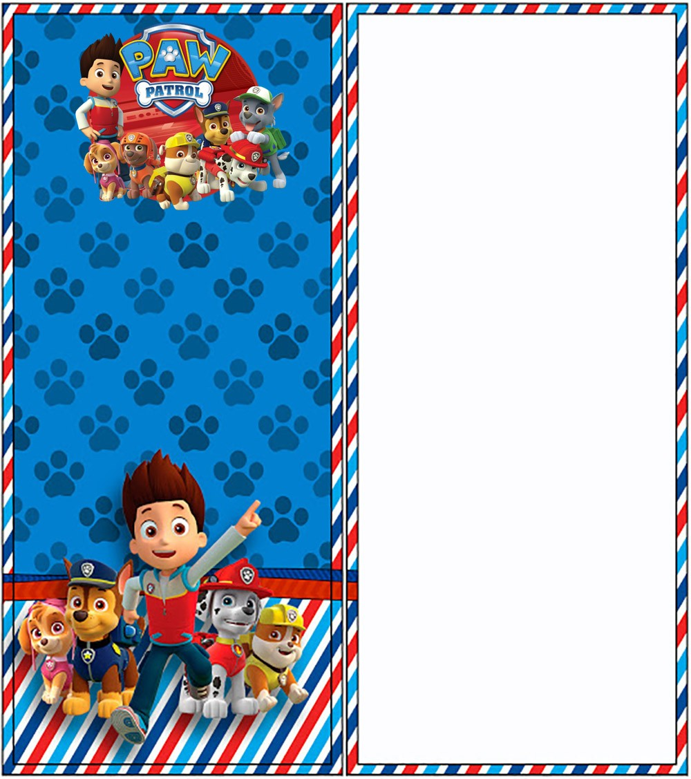 party invitation template paw patrol party invitations for design