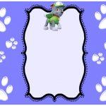 Paw Patrol Invitations Rocky 150x150