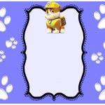 Paw Patrol Invitations Rubble 150x150