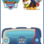 Paw Patrol Template 150x150