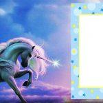 Free Online Unicorn Birthday Invitation 150x150
