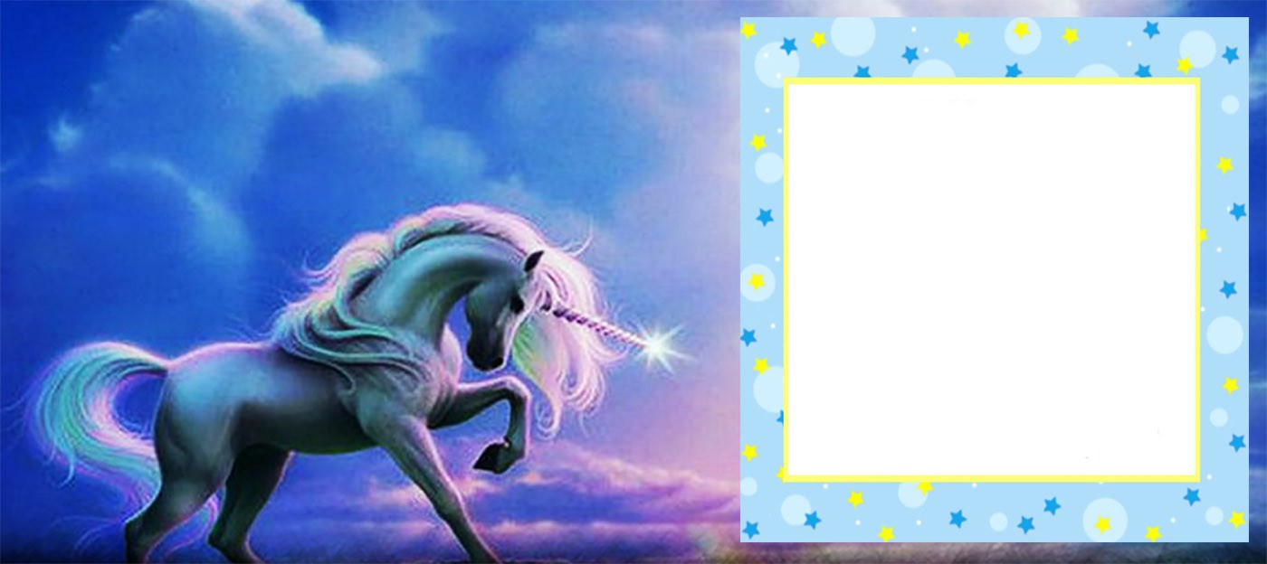free online unicorn birthday invitation