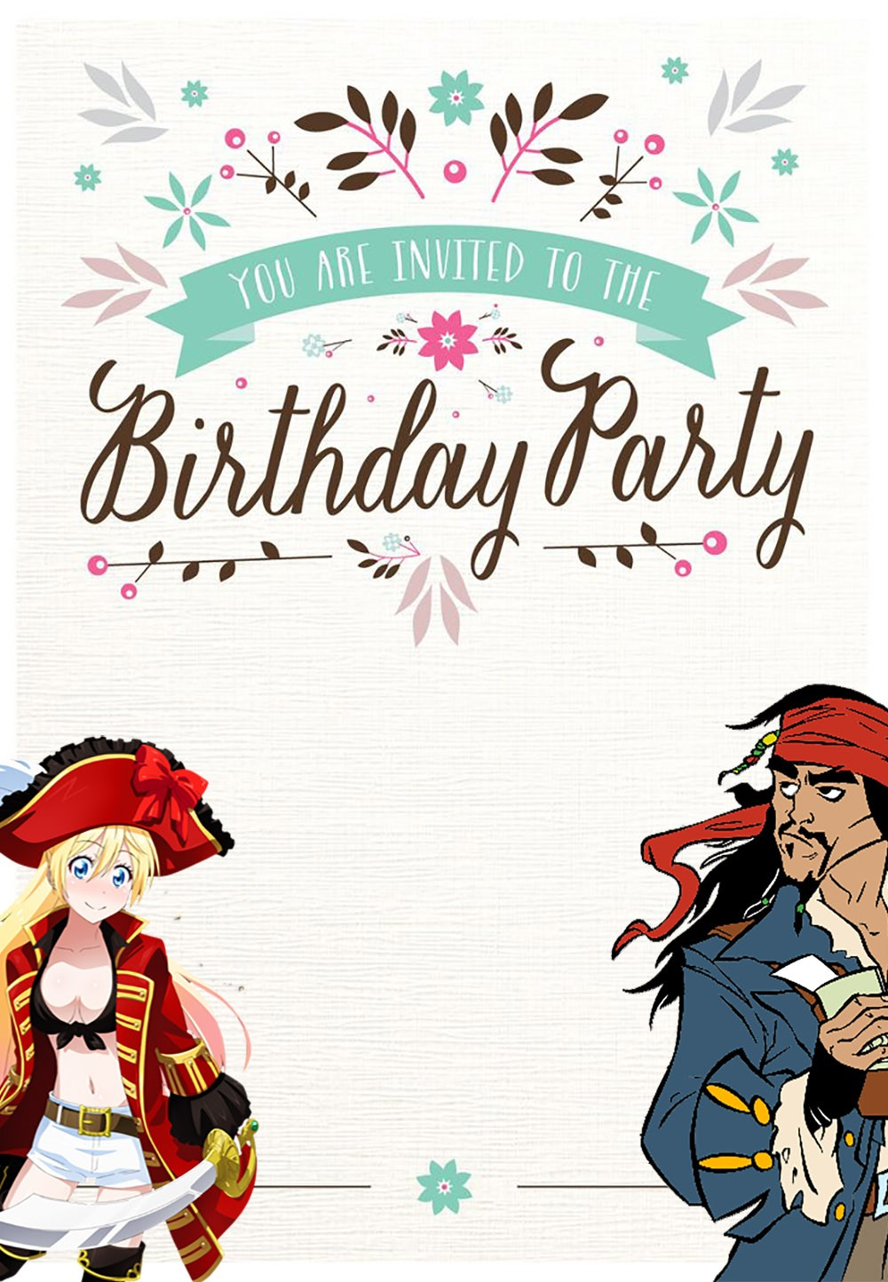 10 Steps and Ideas to Plan a Pirate Party with FREE Invitation ...