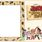 Jake and Neverland Pirates Invitation Template 150x150