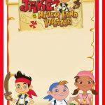 Printable Jake and Neverland Pirates Invitation Template 150x150
