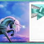 Unicorn Birthday Invitation Template 150x150
