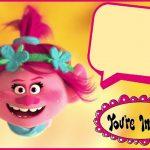 Free Online Trolls Birthday Invitation 150x150