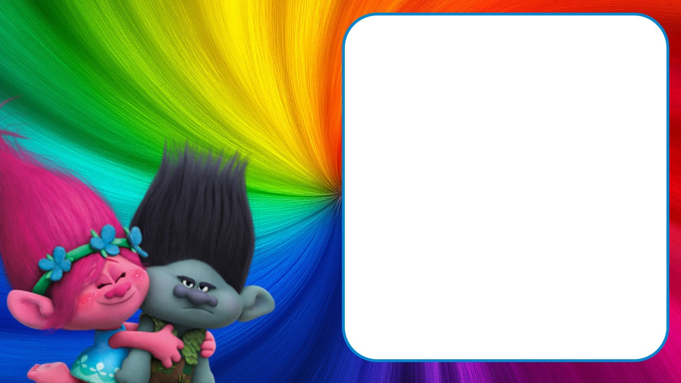 free printable trolls invitation templates