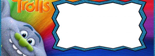 Free Printable Trolls Invitation Templates  Online Invitations Templates Printable Free