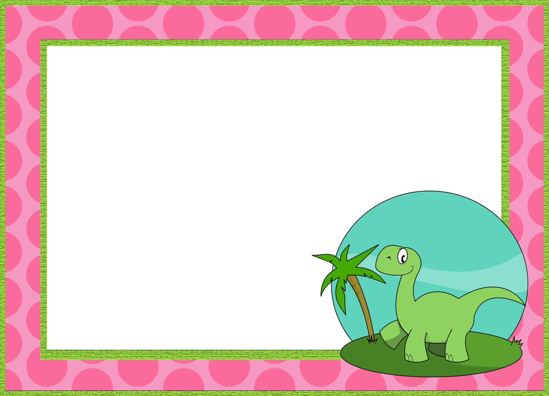 6 Printable Invitation Templates for a Dinosaur Birthday Party
