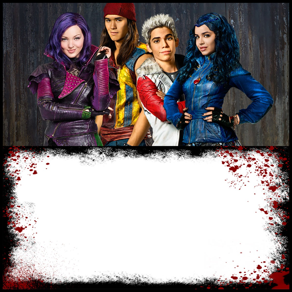 Deck Out Your Next Party With Descendants Invitations ...