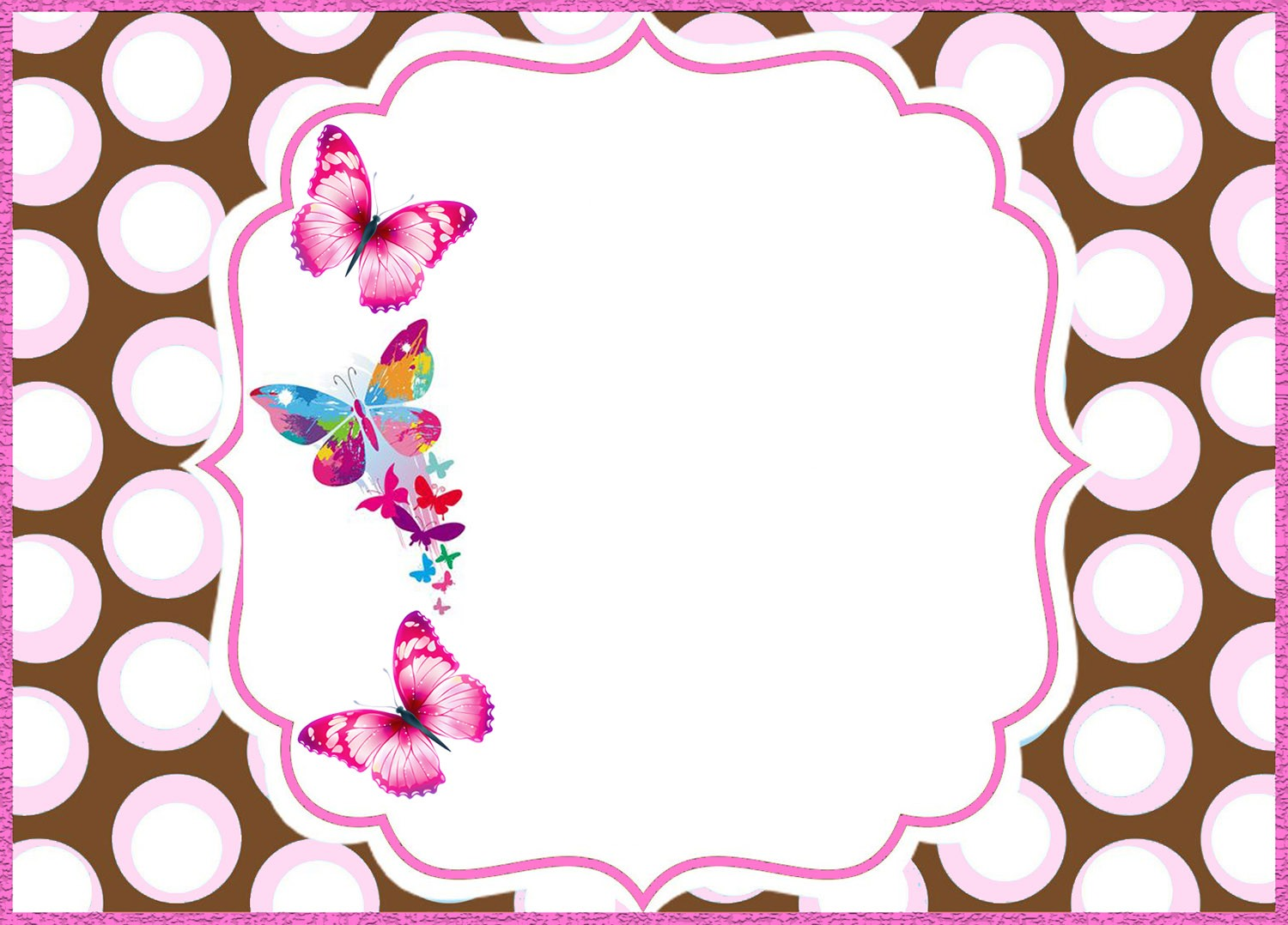 Butterfly Party Invitation Ideas and Free Invitation Templates ...