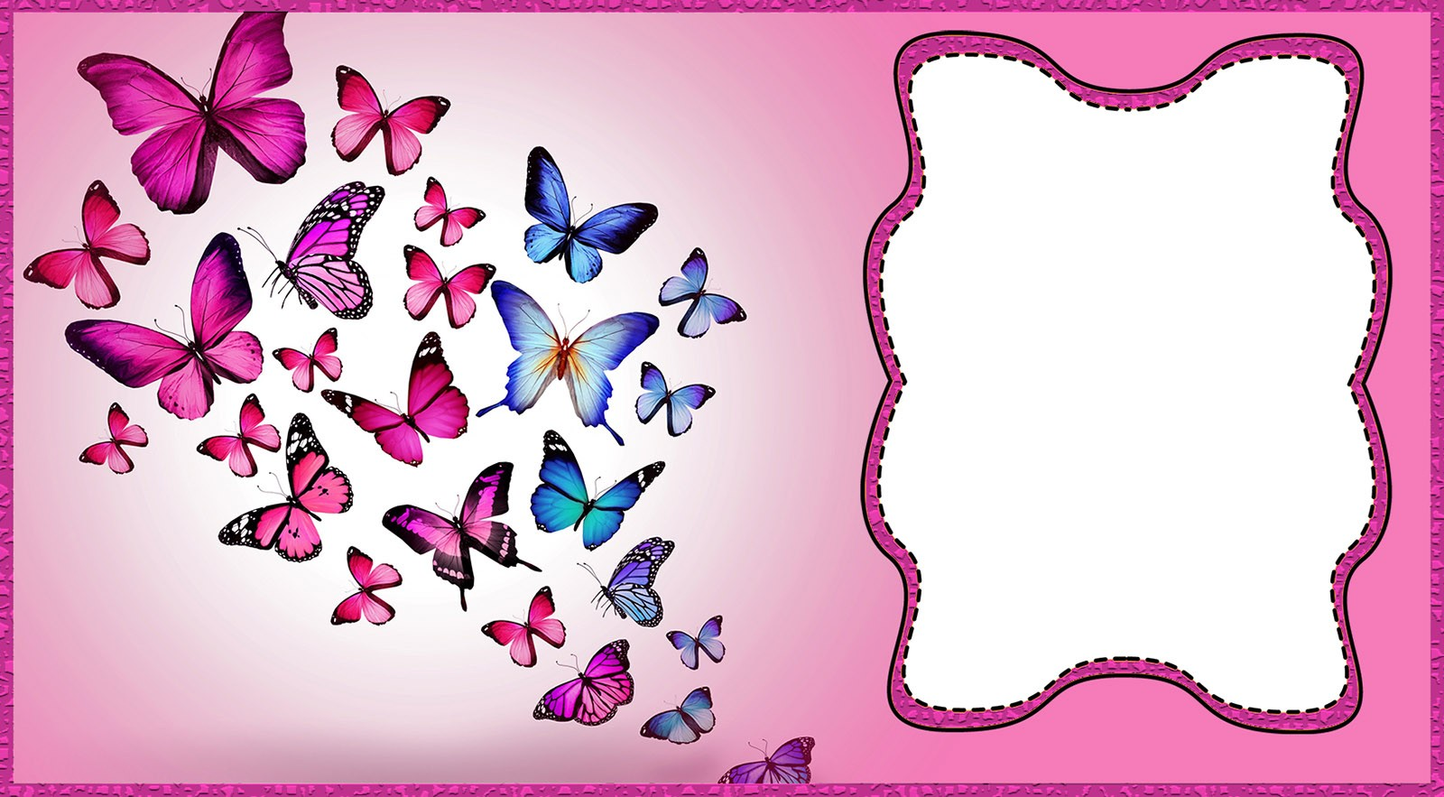 Printable Butterfly Birthday Invitation Invitations Online
