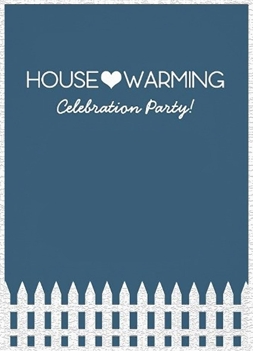 photograph about Free Printable Housewarming Cards referred to as Housewarming Invites - A straightforward \