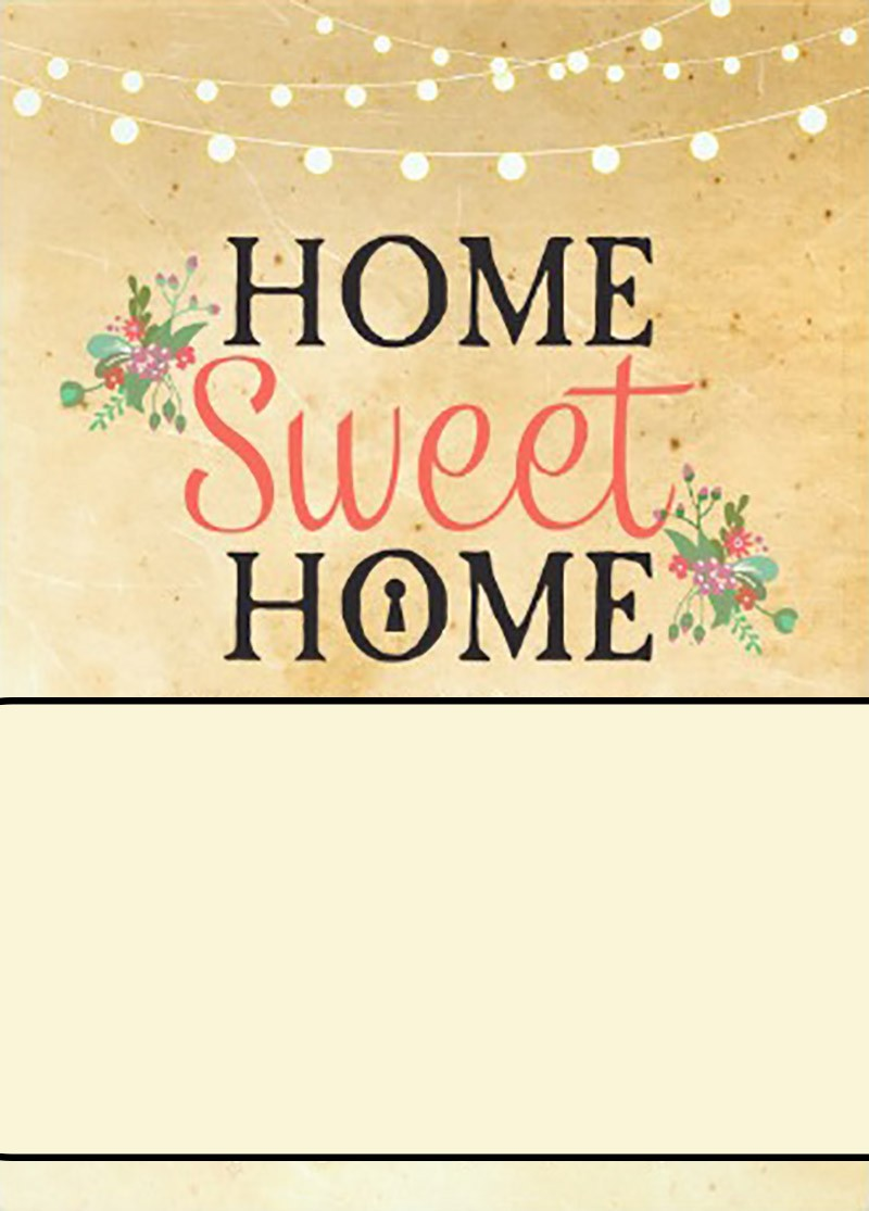 Dashing image in printable housewarming invitations