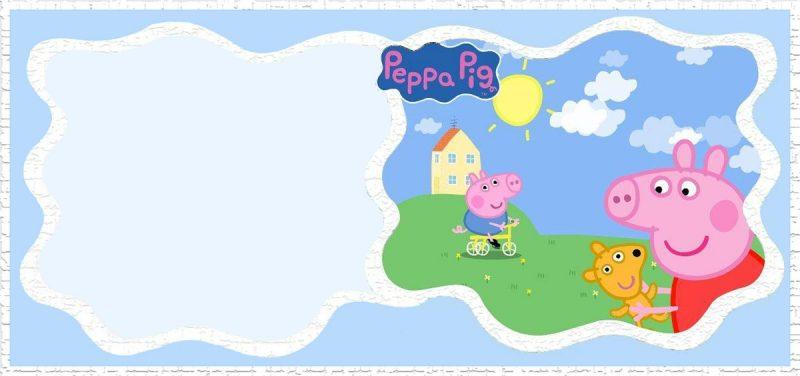 Incredible Peppa Pig Invitation Templates Free And Printable