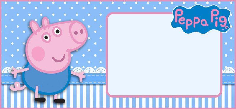 Incredible Peppa Pig Invitation Templates Free And