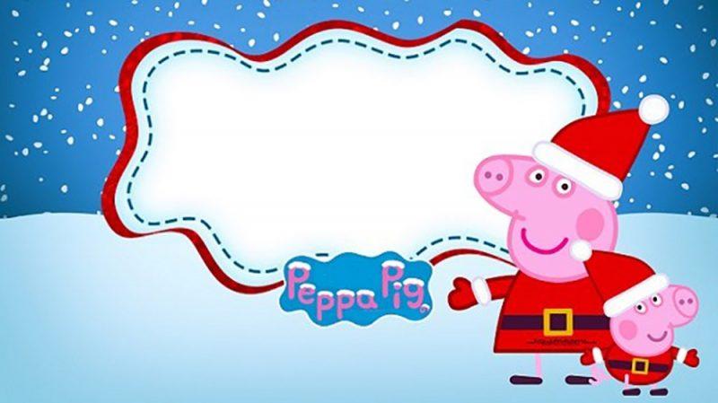 incredible peppa pig invitation templates