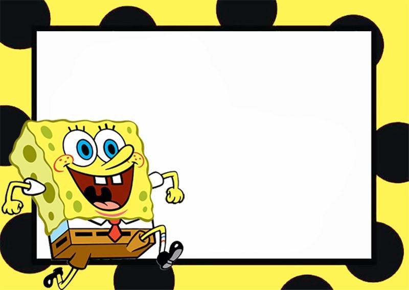 SpongeBob Invitation Templates | Invitations Online