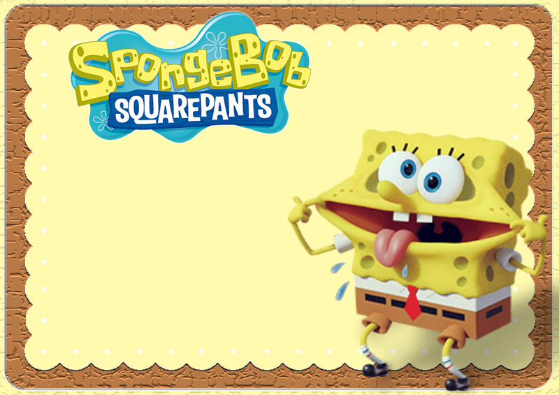 Spongebob Invitation Templates Invitations Online